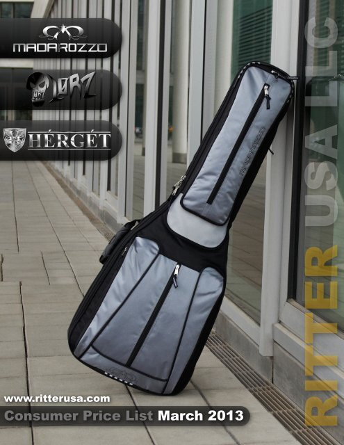 Simple Concert Ukulele Gig Bag by Madarozzo one of the Ritter Brands UK ADDRESS
