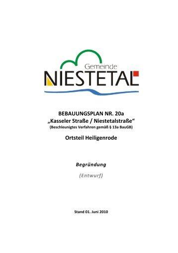 PDF (2 MB) - Gemeinde Niestetal