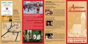 16. bis 18. Dezember 2011 - Förderverein St. Nikolai