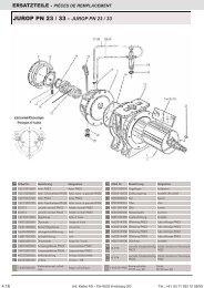 JUROP PN 23 / 33 - Ed. Keller AG, Kirchberg