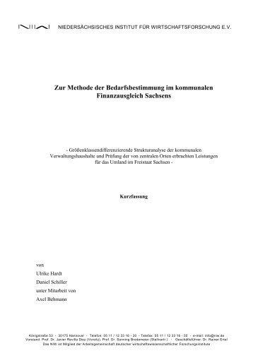 Kurzfassung (PDF) - NIW