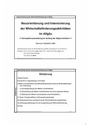Neuorientierung und Intensivierung der ... - NIW