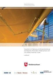 Stärkung und Weiterentwicklung der Maritimen Wirtschaft -  NIW