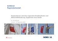 Kooperationen zwischen regionalen Kreditinstituten und ... - NIW