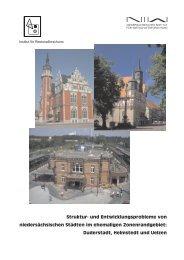 Duderstadt, Helmstedt und Uelzen - NIW