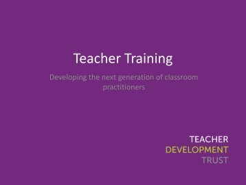 Teacher-Training-Developing-the-next-generation-of-classroom-practitioners