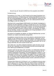 bne-Bewertung des geplanten § 29 GWB - Bundesverband Neuer ...