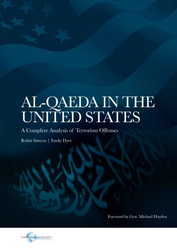 Al-QAEDA in ThE UniTED STATES