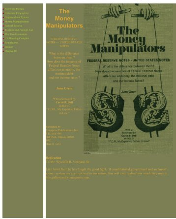 The-Money-Manipulators-the-Bankers-That-Stole-America-1971