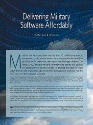 Delivering Military Software Affordably