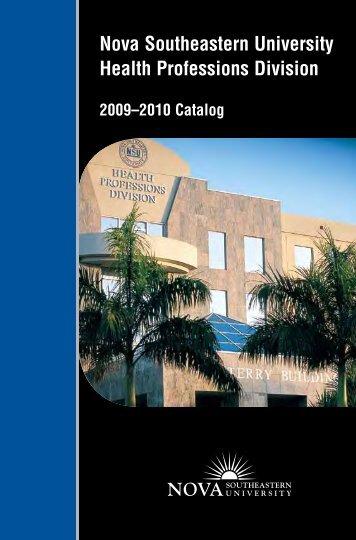 Nova Southeastern University Health Professions Division