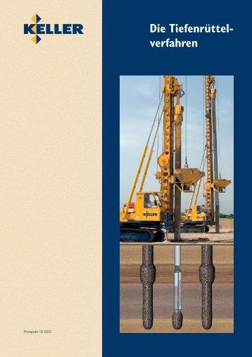 Die Tiefenrüttelverfahren - Keller-MTS
