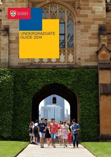 Sydney-Uni-2014-Undergraduate-Guide