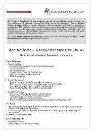 Stellenanzeige StepStone - Arzthelferin - PZ Mannheim - 18-07-2011