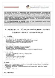 Arzthelferin - PZ Potsdam - 29-07-2011 - DGH Plasmaspende