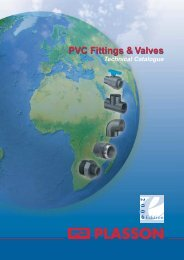 PVC Fittings & Valves - Plasson