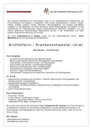 Stellenanzeige StepStone - Arzthelferin - PZ Dessau - 16-01-2013