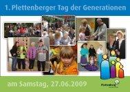 Flyer Generationentag - Stadt Plettenberg