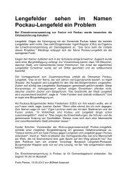 Freie Presse vom 13.09.2012 - Pockau