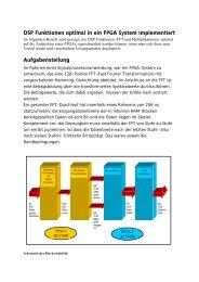 DSP Funktionen optimal in ein FPGA System ... - POLAR-Design