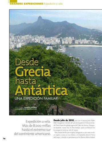 Revista Viajes y Aventura (Colombia), Julio 2011 Texto