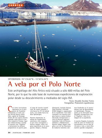 Revista Navegar (España), Febrero 2009 - N° 221 - POLARWIND ...