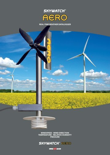 WINDSPEED - WIND DIRECTION ... - JDC Electronic SA