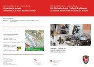 Für Sicherheit und Freiheit: Einladung zu einem ... - Schweizer Armee