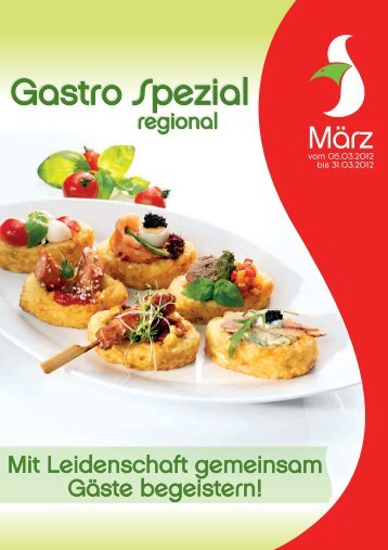 Gastro Spezial Gastro Spezial - Recker Feinkost GmbH