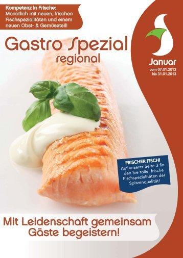 Gastro Spezial Regional - Januar 2013 - Windmann