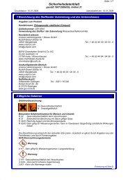 Sicherheitsdatenblatt - Bayrol Onlineshop