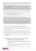 hinweise zu berichtspflicht und mittelabruf/auszahlung - Seite 2