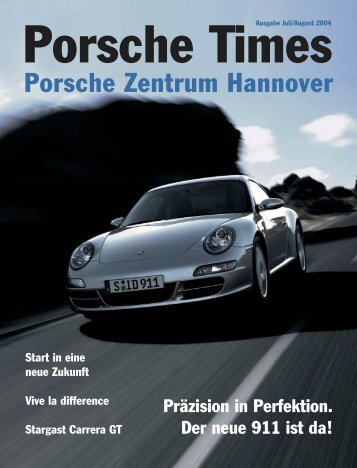 Ausgabe Juli/August 2004 - Porsche