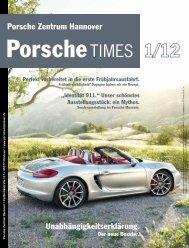 Ausgabe 1/12 - Porsche Zentrum Hannover