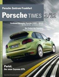 Ausgabe 2/12 - Porsche Zentrum Frankfurt