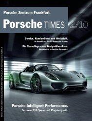 PorscheTimes Vorlageseiten - Porsche Zentrum Frankfurt