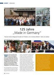"""125 Jahre """"Made in Germany"""" - Porschen"""
