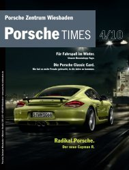 Ausgabe 4/10 - Porsche