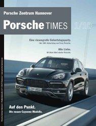 Auf den Punkt. - Porsche