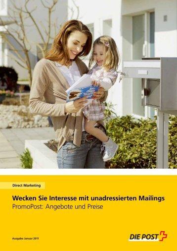 PromoPost - Die Schweizerische Post