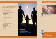 Faltblatt Vaterschaftsanerkennung - Landkreis Potsdam-Mittelmark