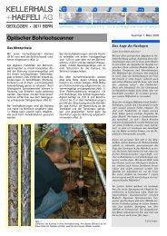 Moderne Techniken bei der zweiten ... - Kellerhals + Haefeli AG