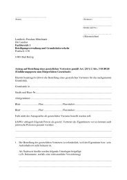 Antrag auf Bestellung eines gesetzlichen Vertreters - Landkreis ...