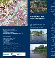 Naturschutz und Wassertourismus - Landkreis Potsdam-Mittelmark