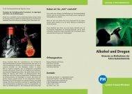 Alkohol und Drogen - Landkreis Potsdam-Mittelmark