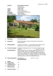 2. Schulbezirk - Landkreis Potsdam-Mittelmark