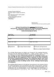 Antrag auf Ausstellung einer vorläufigen Bescheinigung nach § 22 ...