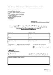 Antrag auf Ausstellung einer Bescheinigung nach § 22 Abs. 2 ...