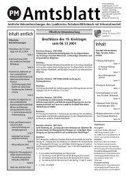 Inhalt amtlich Inhalt - Landkreis Potsdam-Mittelmark