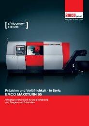 EMCO MAXXTURN 95 - ppw Handel GmbH